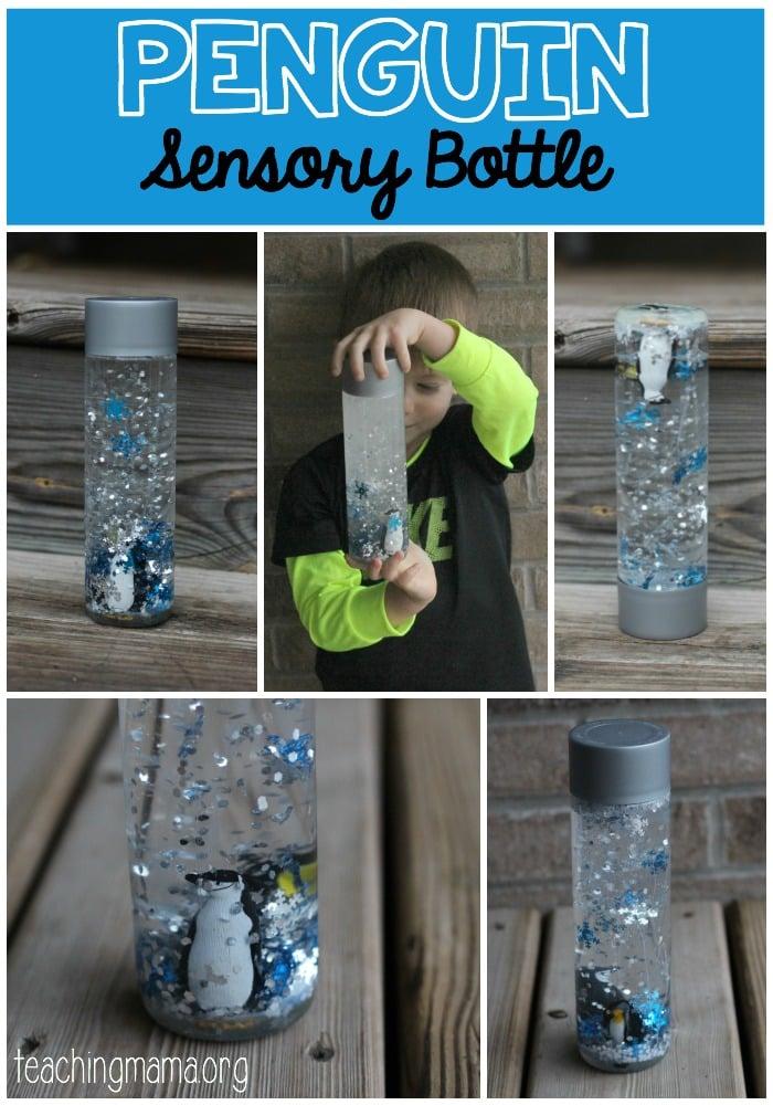 Penguin Sensory Bottle