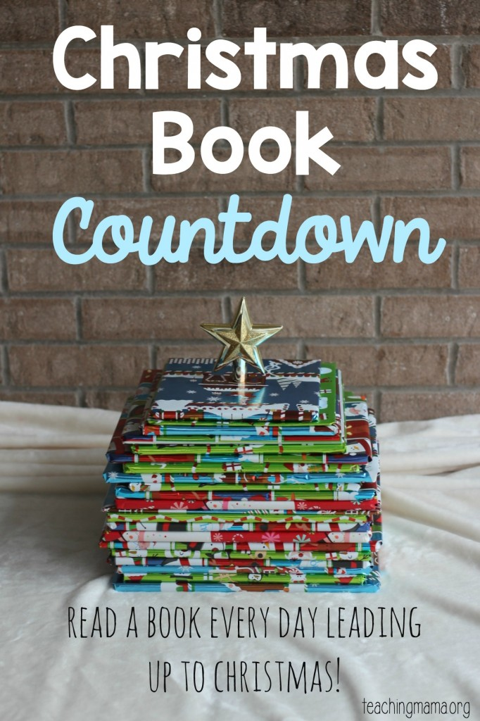 Christmas Book Countdown Pin