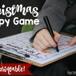 Christmas Road Trip I Spy Game