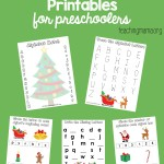 Christmas Literacy Printables for Preschoolers