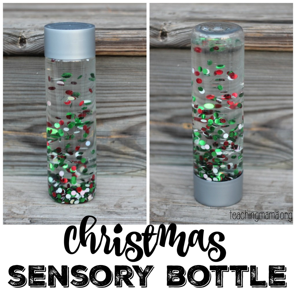 Christmas Sensory Bottle FB