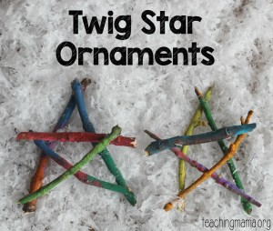 Twig Star Ornaments