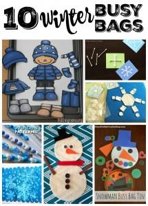 Winter Busy Bag Ideas