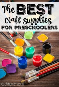 The Best Craft Supplies for Preschoolers