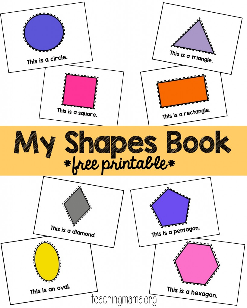 My Shapes Book - Pin