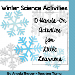 Winter Science Activities Packet for Little Learners