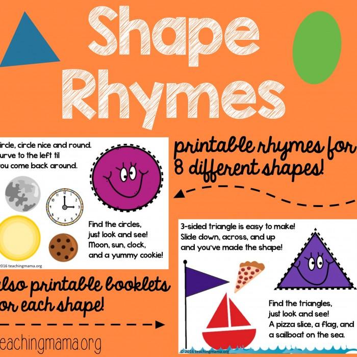 Shape Rhymes Square