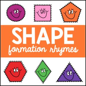 shape rhymes
