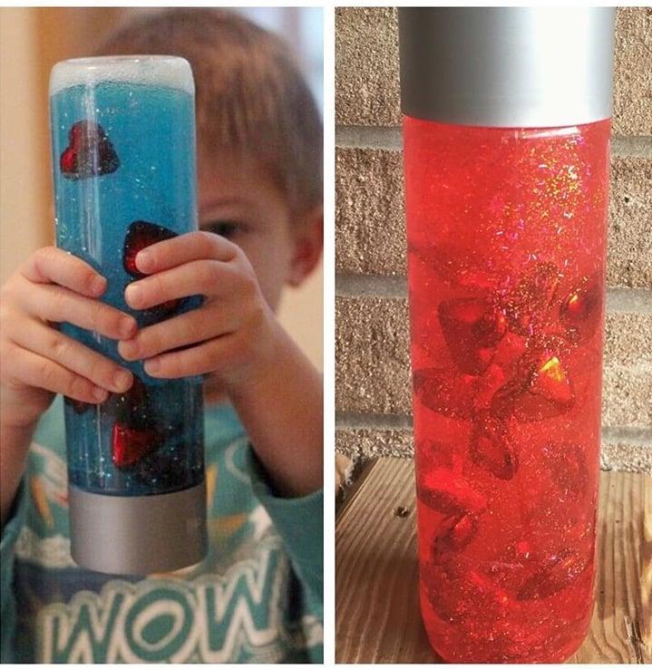 sensory bottles double