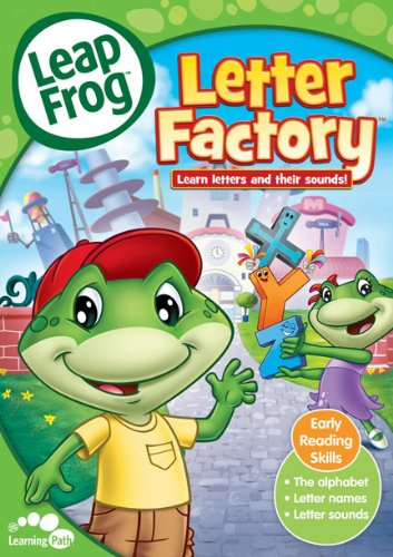 Tools for teaching the alphabet for Abc leapfrog letter factory