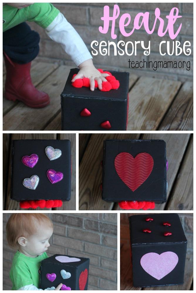 Heart Sensory Cube - Pin