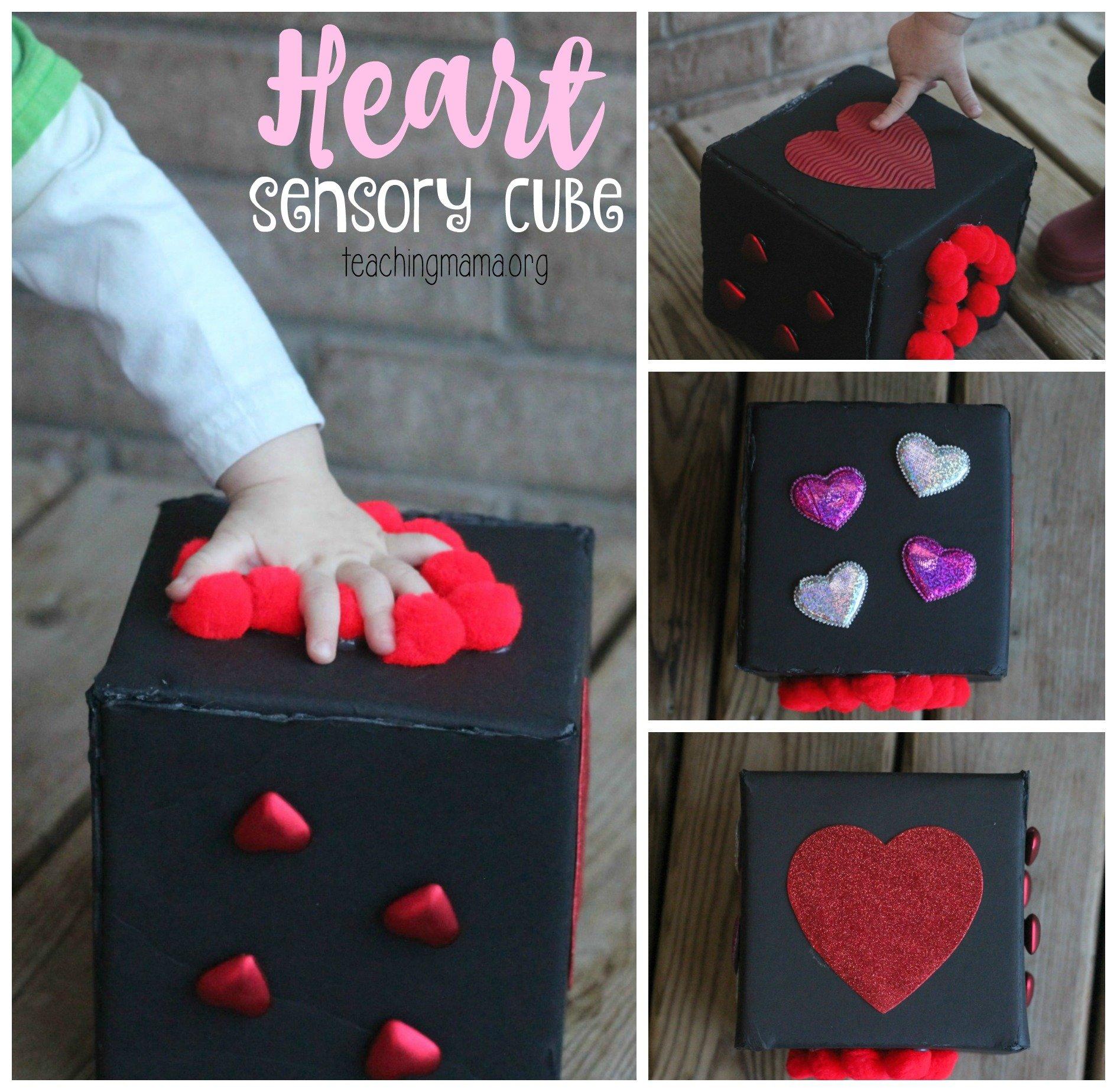Heart Sensory Cube
