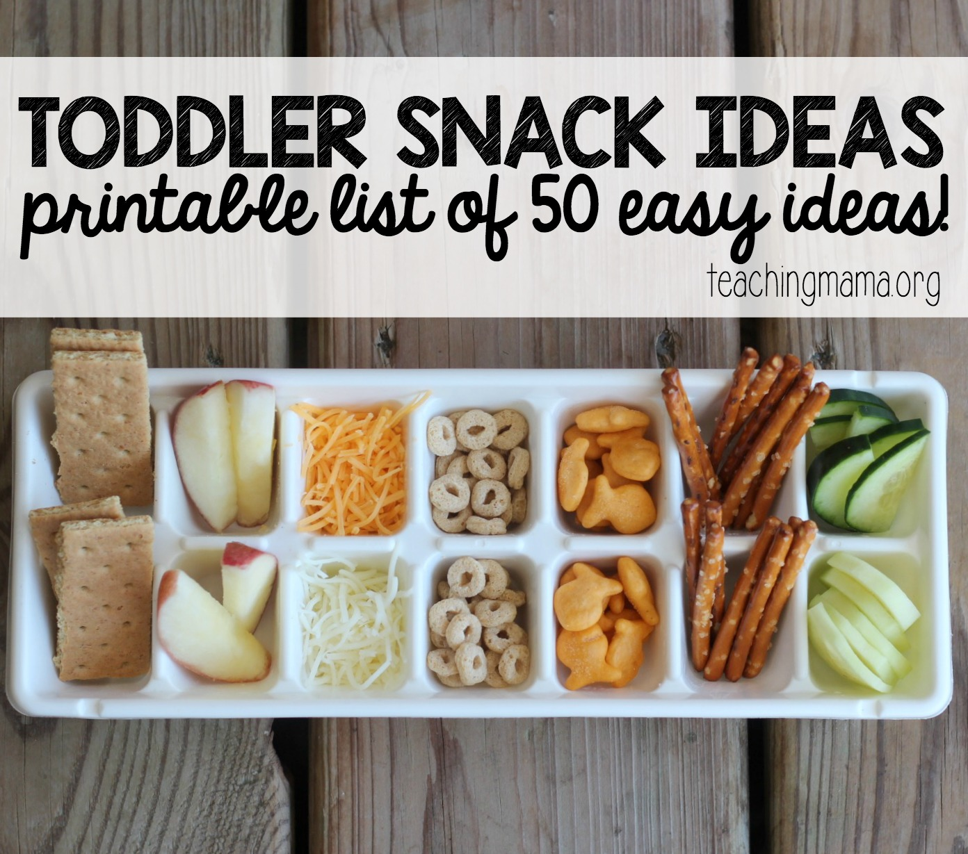 Toddler Snack Ideas main