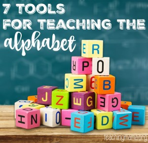 7 Tools for Teaching the Alphabet