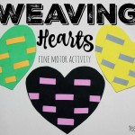 Weaving Hearts – Fine Motor Activity