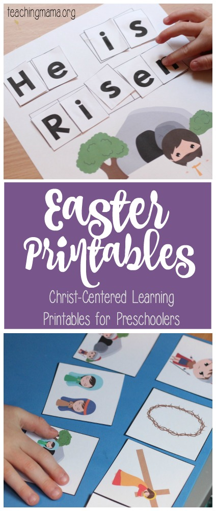 Easter Printables for Preschoolers