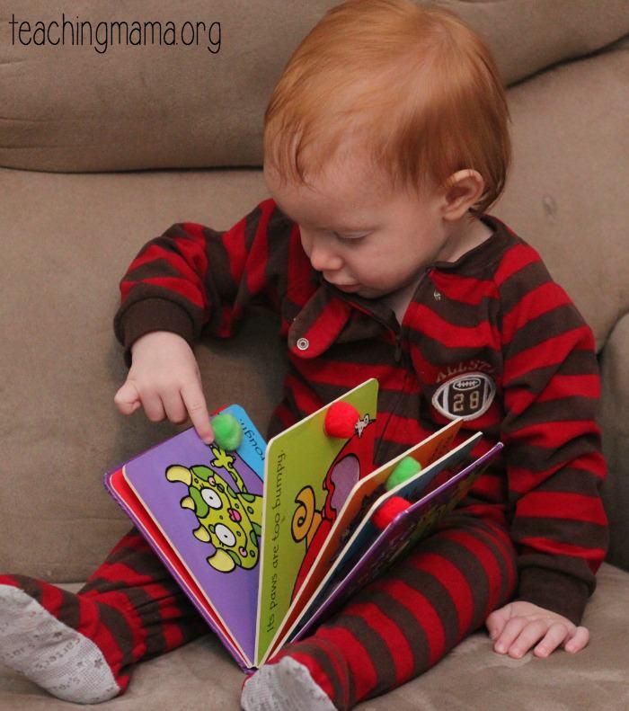reading board book