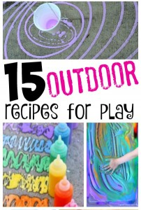 15 Outdoor Recipes for Play