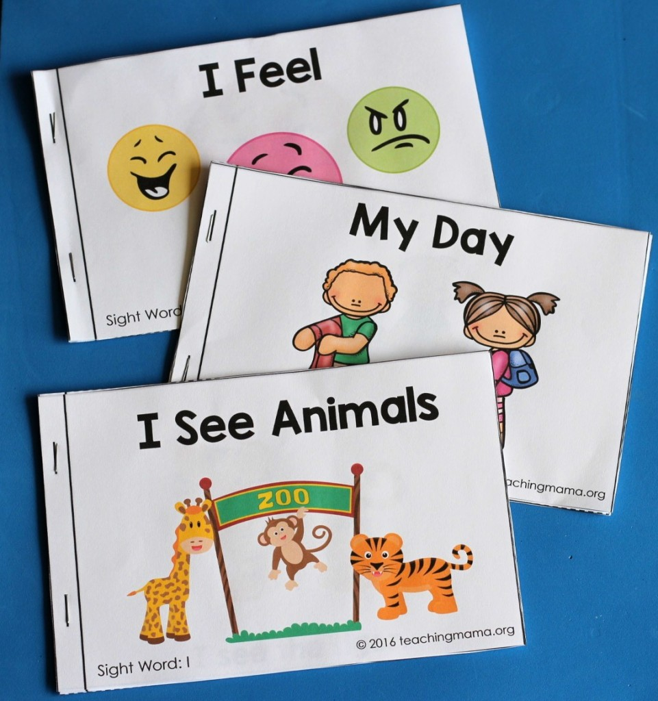 3 Sight Word Readers