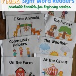 Free Sight Word Readers
