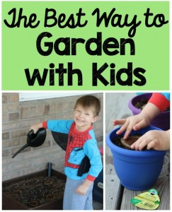 The Best Way to Garden with Kids