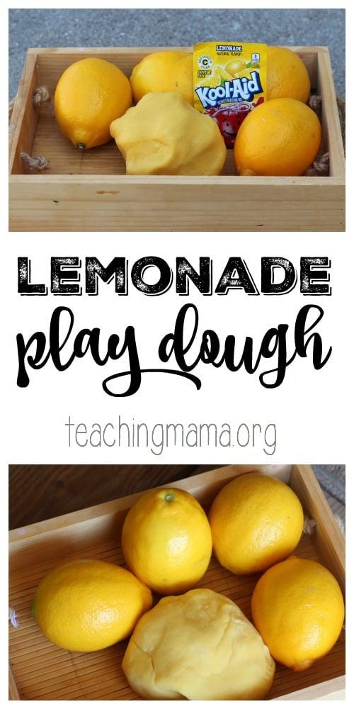 Lemonade Play Dough Pin