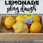 Lemonade Play Dough