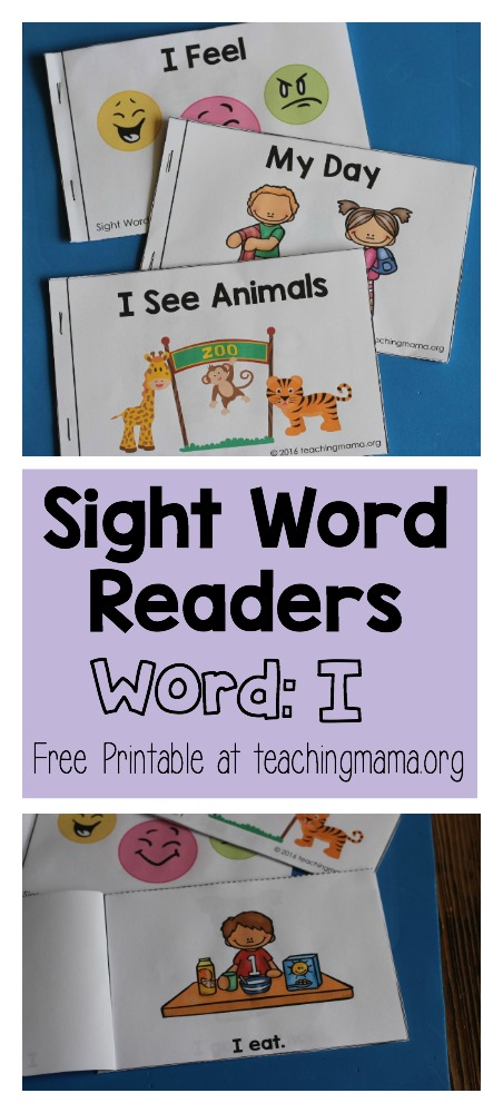 Sight Word I Pin