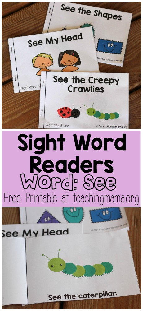 Sight Word Readers- See