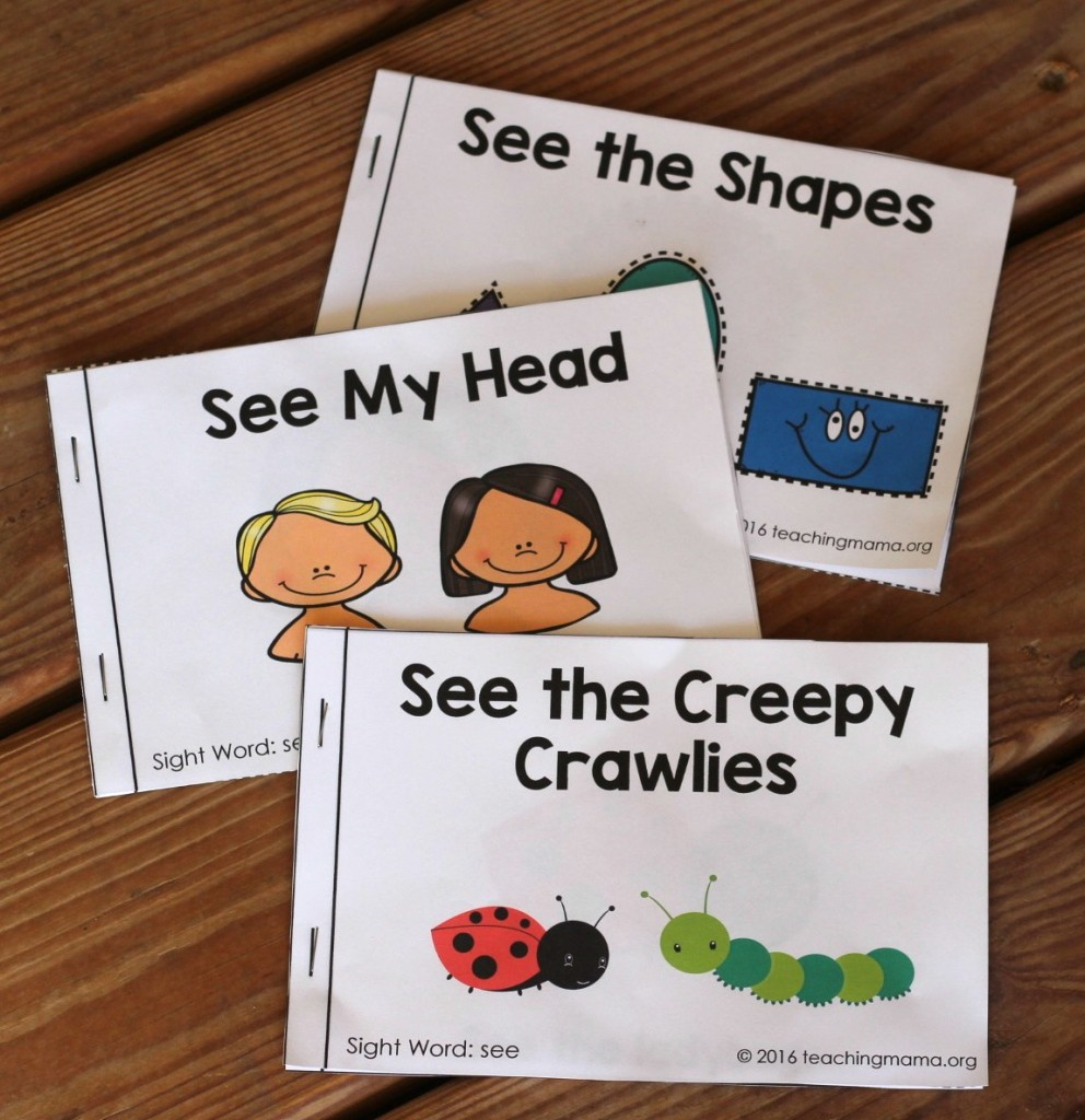 Sight Word Readers on See