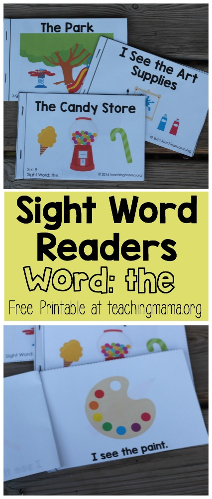 Sight Word Readers - the