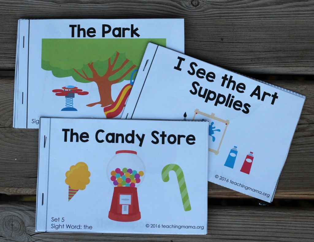 Sight Words - set 5