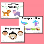 "Sight Word Readers for the Word ""Look"""