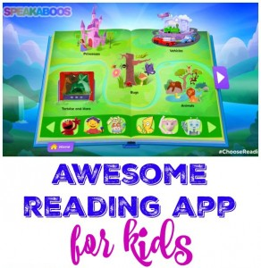 Awesome Reading App for Kids + Giveaway!