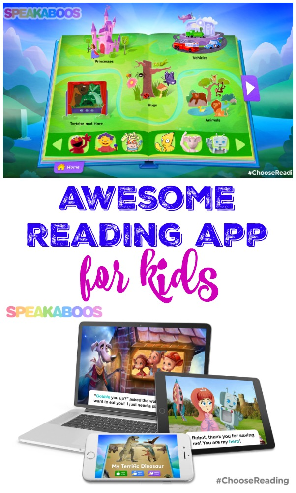 Awesome Reading App for Kids