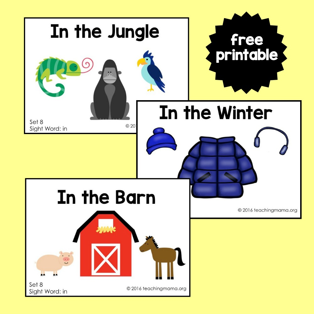 Sight Word In