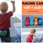 Racing Cars with a Gutter