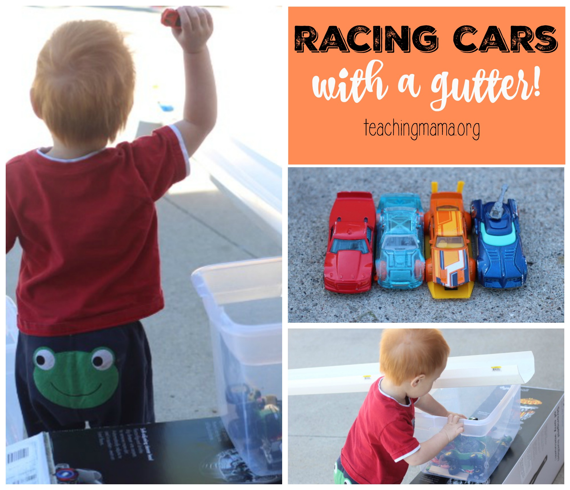 racing with cars