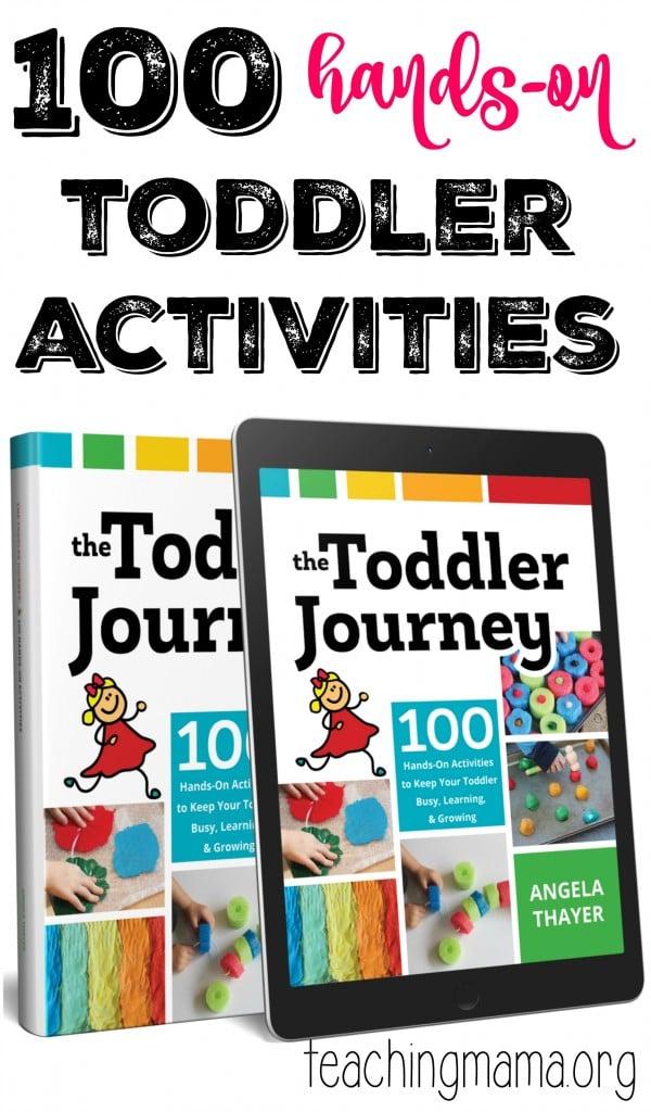 100 Toddler Activities- Pin