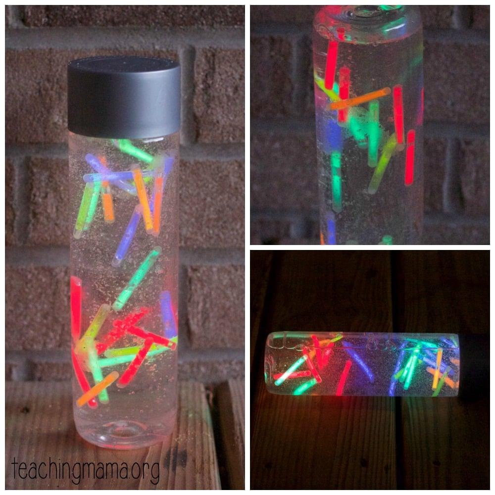 Glow Sticks Bottle