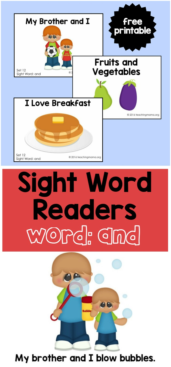 Sight Word Reader - And