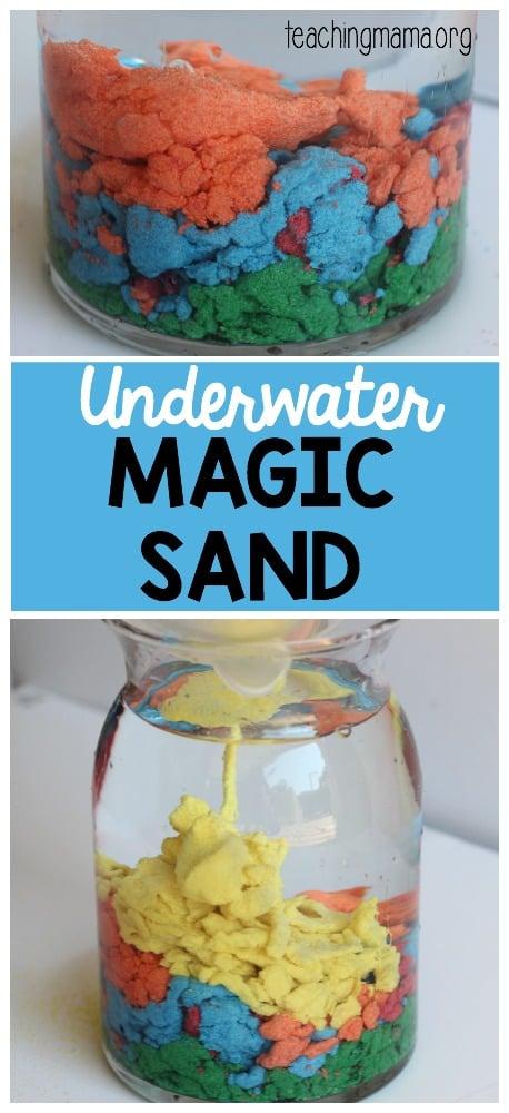 Underwater Magic Sand - Pin