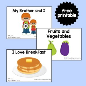 Sight Word Reader- and