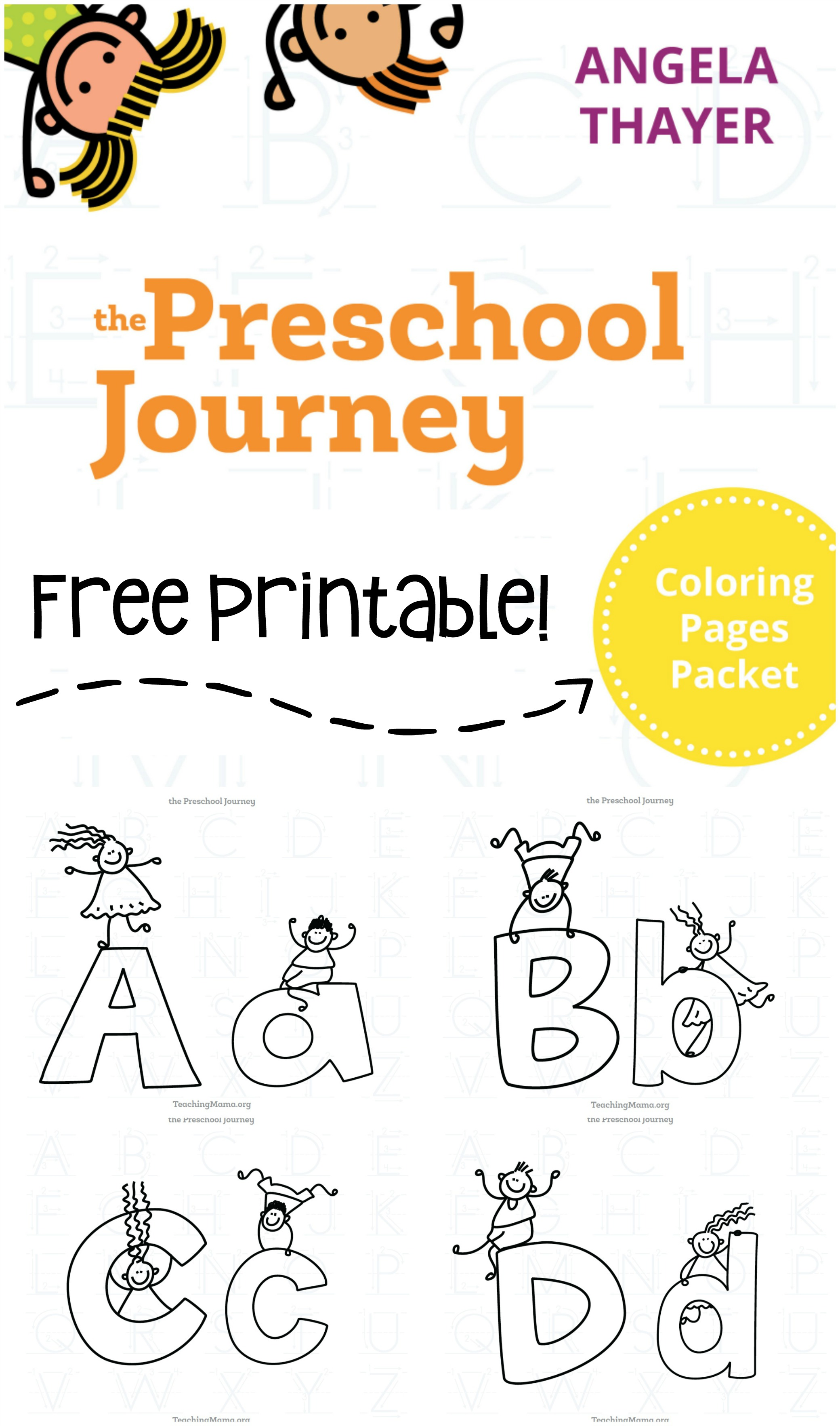 Free Coloring Pages Packet