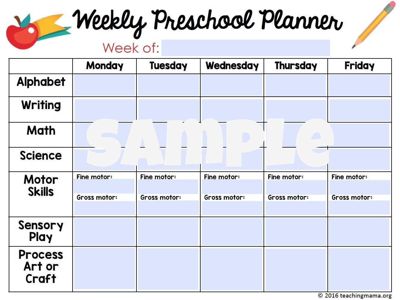 Planner -editable