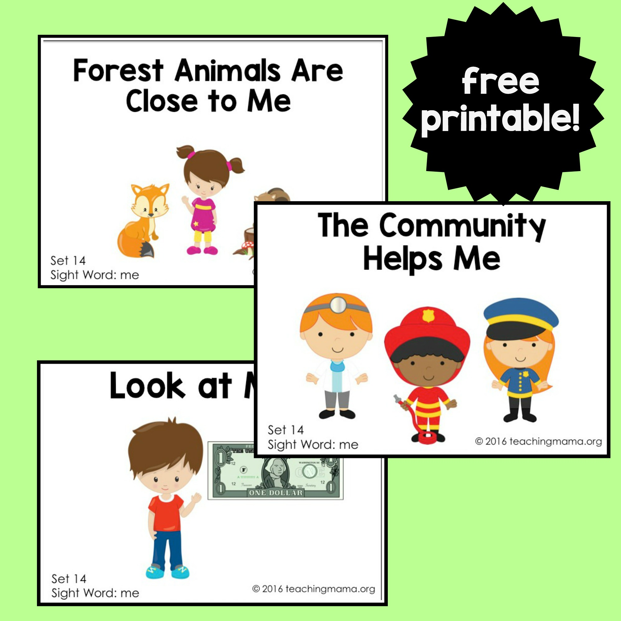 photograph about Printable Sight Word Readers named Sight Phrase Site visitors for the Term \