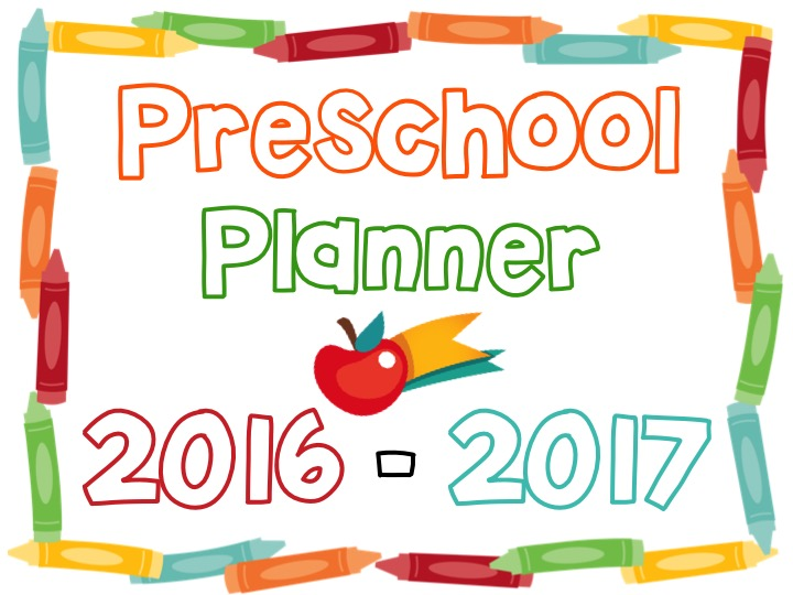 printable preschool planner on sale now teaching mama