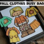 Fall Clothes Dress Up Busy Bag {Free Printable}