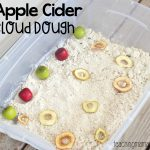 Apple Cider Cloud Dough
