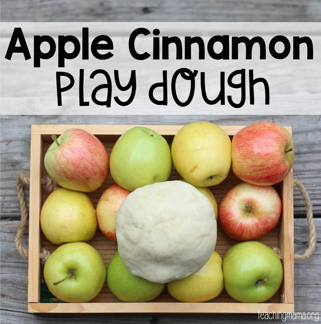 Apple Cinnamon Play Dough-FB